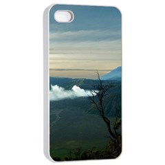 Bromo Caldera De Tenegger  Indonesia Apple Iphone 4/4s Seamless Case (white)