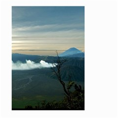 Bromo Caldera De Tenegger  Indonesia Large Garden Flag (two Sides)