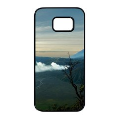 Bromo Caldera De Tenegger  Indonesia Samsung Galaxy S7 Edge Black Seamless Case by Nexatart
