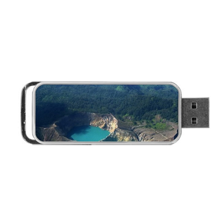 Kelimutu Crater Lakes  Indonesia Portable USB Flash (Two Sides)