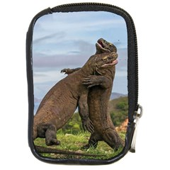 Komodo Dragons Fight Compact Camera Cases by Nexatart