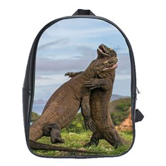 Komodo Dragons Fight School Bag (large)