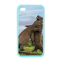 Komodo Dragons Fight Apple Iphone 4 Case (color) by Nexatart