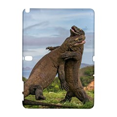 Komodo Dragons Fight Galaxy Note 1 by Nexatart