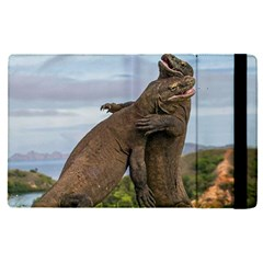 Komodo Dragons Fight Apple Ipad Pro 9 7   Flip Case