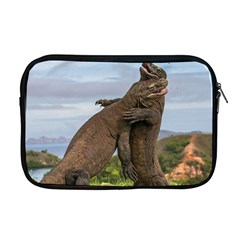 Komodo Dragons Fight Apple Macbook Pro 17  Zipper Case by Nexatart