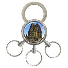 Prambanan Temple 3 Ring Key Chains