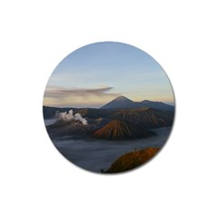 Sunrise Mount Bromo Tengger Semeru National Park  Indonesia Magnet 3  (round) by Nexatart