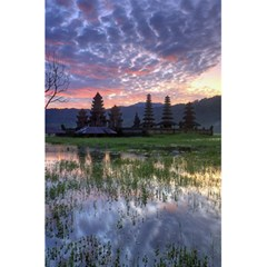 Tamblingan Morning Reflection Tamblingan Lake Bali  Indonesia 5 5  X 8 5  Notebooks by Nexatart
