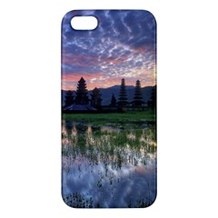 Tamblingan Morning Reflection Tamblingan Lake Bali  Indonesia Iphone 5s/ Se Premium Hardshell Case