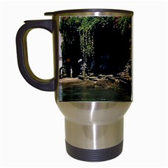 Tanah Lot Bali Indonesia Travel Mugs (white) by Nexatart