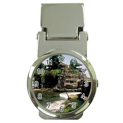 Tanah Lot Bali Indonesia Money Clip Watches by Nexatart