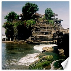 Tanah Lot Bali Indonesia Canvas 16  X 16   by Nexatart