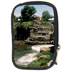Tanah Lot Bali Indonesia Compact Camera Cases by Nexatart