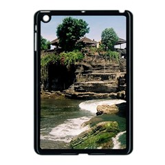 Tanah Lot Bali Indonesia Apple Ipad Mini Case (black) by Nexatart