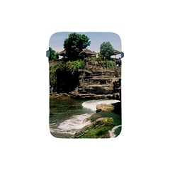 Tanah Lot Bali Indonesia Apple Ipad Mini Protective Soft Cases by Nexatart