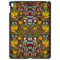 Fantasy Forest And Fantasy Plumeria In Peace Apple Ipad Pro 9 7   Black Seamless Case by pepitasart
