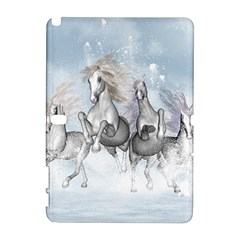 Awesome Running Horses In The Snow Galaxy Note 1 by FantasyWorld7