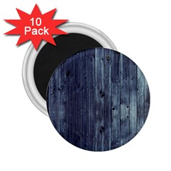Grey Fence 2 2 25  Magnets (10 Pack)  by trendistuff