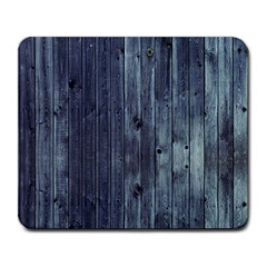 Grey Fence 2 Large Mousepads by trendistuff