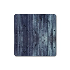 Grey Fence 2 Square Magnet by trendistuff