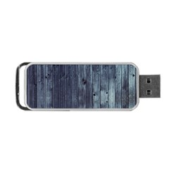 Grey Fence 2 Portable Usb Flash (one Side) by trendistuff