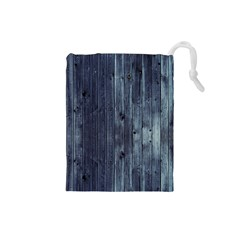 Grey Fence 2 Drawstring Pouches (small)  by trendistuff