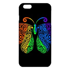 Rainbow Butterfly  Iphone 6 Plus/6s Plus Tpu Case by Valentinaart