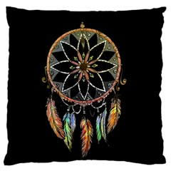 Dreamcatcher  Large Flano Cushion Case (two Sides)
