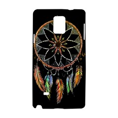 Dreamcatcher  Samsung Galaxy Note 4 Hardshell Case by Valentinaart