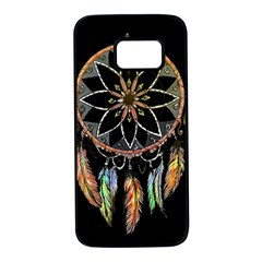 Dreamcatcher  Samsung Galaxy S7 Black Seamless Case by Valentinaart