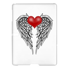 Angel Heart Tattoo Samsung Galaxy Tab S (10 5 ) Hardshell Case  by Valentinaart