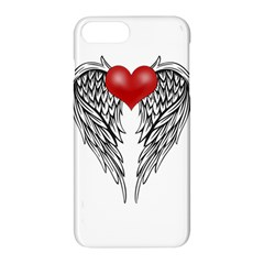 Angel Heart Tattoo Apple Iphone 7 Plus Hardshell Case by Valentinaart