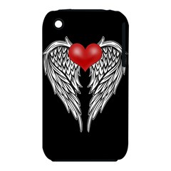 Angel Heart Tattoo Iphone 3s/3gs by Valentinaart