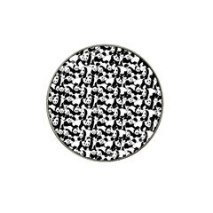 Panda Pattern Hat Clip Ball Marker (10 Pack) by Valentinaart