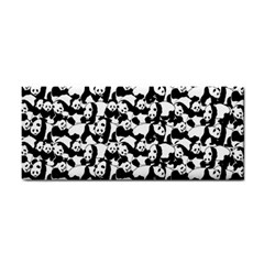 Panda Pattern Cosmetic Storage Cases by Valentinaart