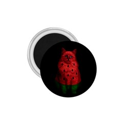 Watermelon Cat 1 75  Magnets