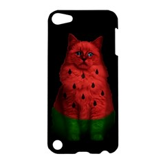 Watermelon Cat Apple Ipod Touch 5 Hardshell Case