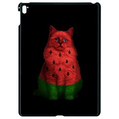 Watermelon Cat Apple Ipad Pro 9 7   Black Seamless Case