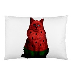Watermelon Cat Pillow Case