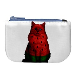 Watermelon Cat Large Coin Purse