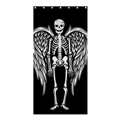 Angel Skeleton Shower Curtain 36  X 72  (stall)  by Valentinaart