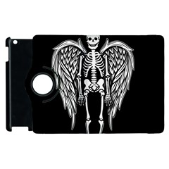 Angel Skeleton Apple Ipad 2 Flip 360 Case