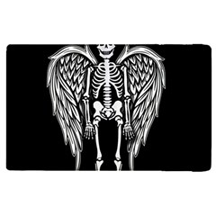 Angel Skeleton Apple Ipad Pro 9 7   Flip Case by Valentinaart