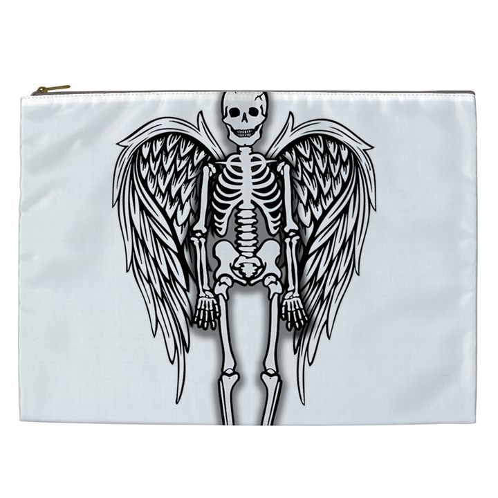 Angel skeleton Cosmetic Bag (XXL)