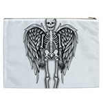 Angel skeleton Cosmetic Bag (XXL)  Back