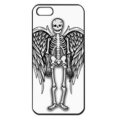 Angel Skeleton Apple Iphone 5 Seamless Case (black)