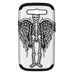 Angel Skeleton Samsung Galaxy S Iii Hardshell Case (pc+silicone) by Valentinaart