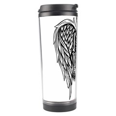 Angel Skeleton Travel Tumbler by Valentinaart