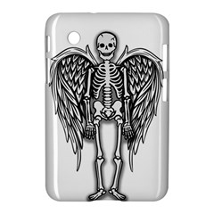 Angel Skeleton Samsung Galaxy Tab 2 (7 ) P3100 Hardshell Case  by Valentinaart